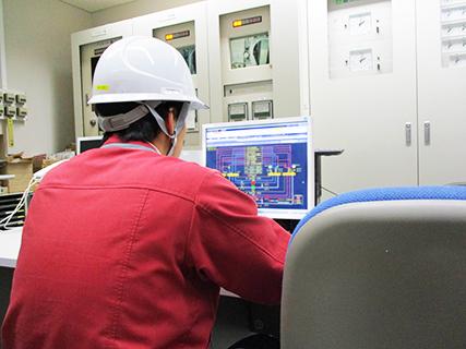 省エネルギー事業風景